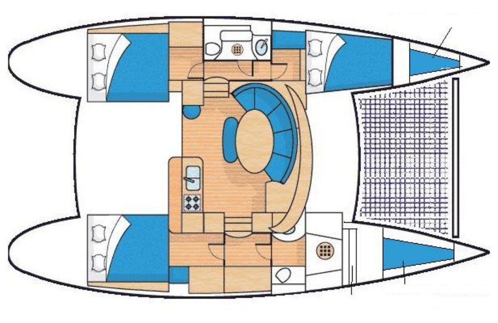 Withdrawn from sale lagoon lagoon 380 3 cabines pre owned 296 a c yacht brokers buy or