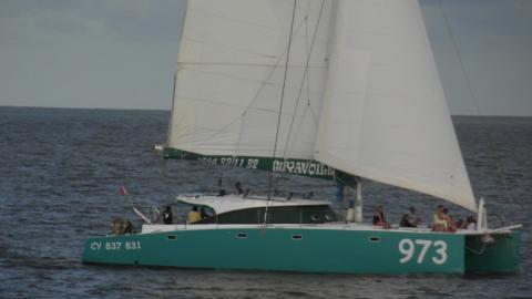 Multicap-Caraïbes Punch 17m : Navigating