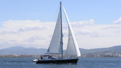 Sun Odyssey 54DS : Navigating