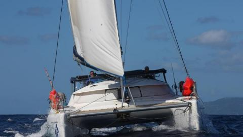 Fountaine Pajot Athena 38 : Navigating in The Caribbean