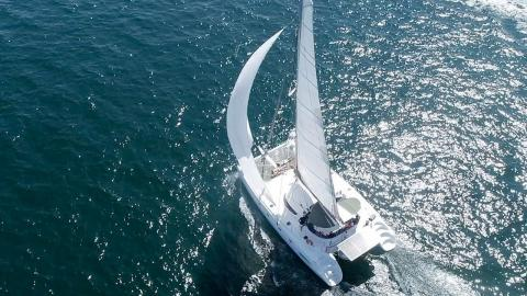 Fountaine Pajot Bahia 46: In navigating