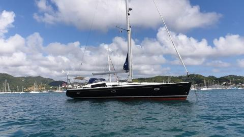 Bavaria 50: At anchor in Martinique