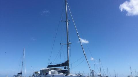 Fountaine Pajot Casamance 44 : At anchorage