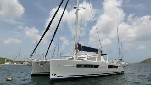 Catana 47: At anchor in Martinique