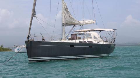 Hanse 470e : At anchor