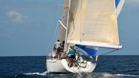 X Yachts IMX 40 : Navigating