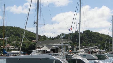 Fountaine Pajot Lavezzi 40 : At anchor in Martinique