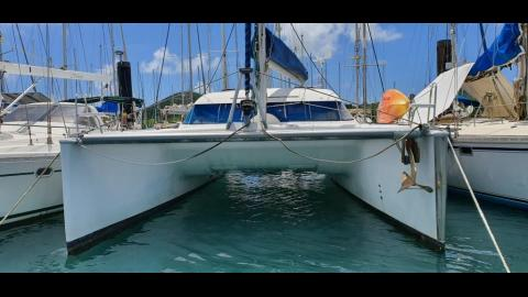 Nautitech 40: In the marina