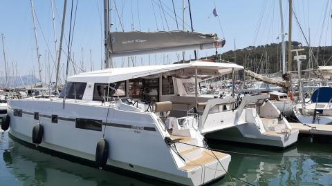 Nautitech 46 Open: In the marina