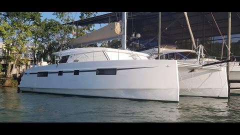 Bavaria Catamarans Nautitech 46 Open : In the marina