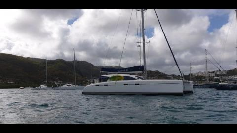 Nautitech 47: At anchor in Martinique