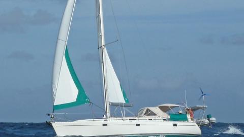 Bénéteau Oceanis 400 : Navigating