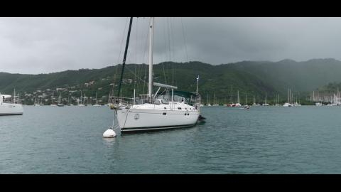 Bénéteau Oceanis 461 : Moored in Martinique