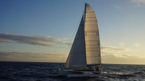 Trimaran Paul Lucas: Navigating on the wind