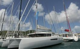 NEEL-TRIMARANS NEEL 47: On A&C Yacht pontoon le Marin Martinique