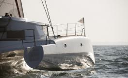 Neel Trimarans Neel 45 Evolution : Starboard float