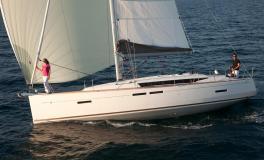 Jeanneau Sun Odyssey 419 : Navigating under gennaker