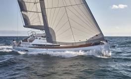 Jeanneau Sun Odyssey 440 : On the wind port tack
