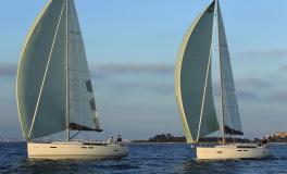 Jeanneau Sun Odyssey 449 : Navigation sous gennaker