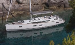 Jeanneau 54 : At anchor