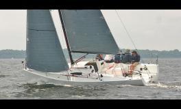 J-Boats - J-Composites J 88 on the wind
