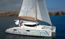 Fountaine Pajot Mahe 36 Evolution navigating