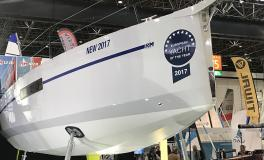 RM 970 winner of the European Yacht Of The Year 2017 (family cruiser category)