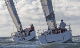Jeanneau Sun Odyssey 349 : Navigating on the wind