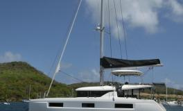 CNB Lagoon 46  : At anchorage Sainte-Anne in Martinique