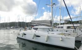 Fountaine Pajot Lavezzi 40 Maestro : In the marina