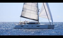 Fountaine Pajot Salina 48 évolution Maestro : Navigating under gennaker