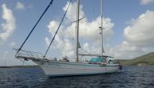 Contour Yachts LTD Ketch Contour Yachts :  At anchor in Martinique