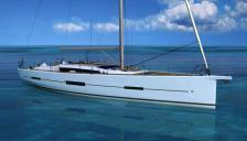Dufour 560 at anchor - Dufour Yachts Dufour 560 Grand'Large, New - France (Ref 492)