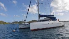 Fountaine Pajot Bahia 46 : At anchor in Martinique