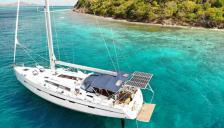 Bavaria 56 cruiser: At anchor in Caribbean
