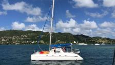 Fountaine Pajot Belize 43 Maestro : At anchor