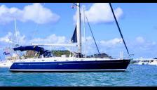 Beneteau 50: At anchorage in Martinique