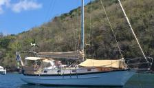 Cabo Rico 34: At anchorage in Martinique