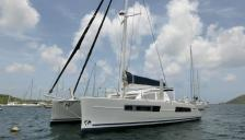 Catana 47: At anchor in Martinique