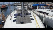 Dufour 500 Grand'Large : Deck seen from the bow