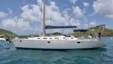 Feeling 486: At anchor in Martinique