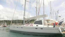 Hanse 531: In the marina