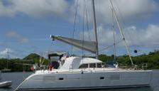 Lagoon 380 S2: Martinique anchorage