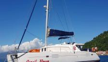 Lagoon 440: At anchor in Caribbean