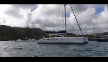 Nautitech 47: At anchor in Martinique
