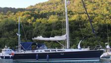 Sun Odyssey 43: At anchor
