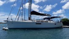 Jeanneau Sun Odyssey 44 i : At pontoon in Martinique