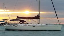 Jeanneau Sun Odyssey 49: At anchor in Martinique