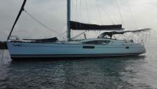 Jeanneau Sun Odyssey 50 DS : At anchor