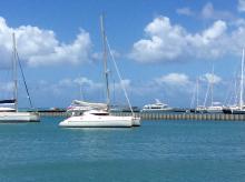 Fountaine Pajot Athena 38 : At anchor